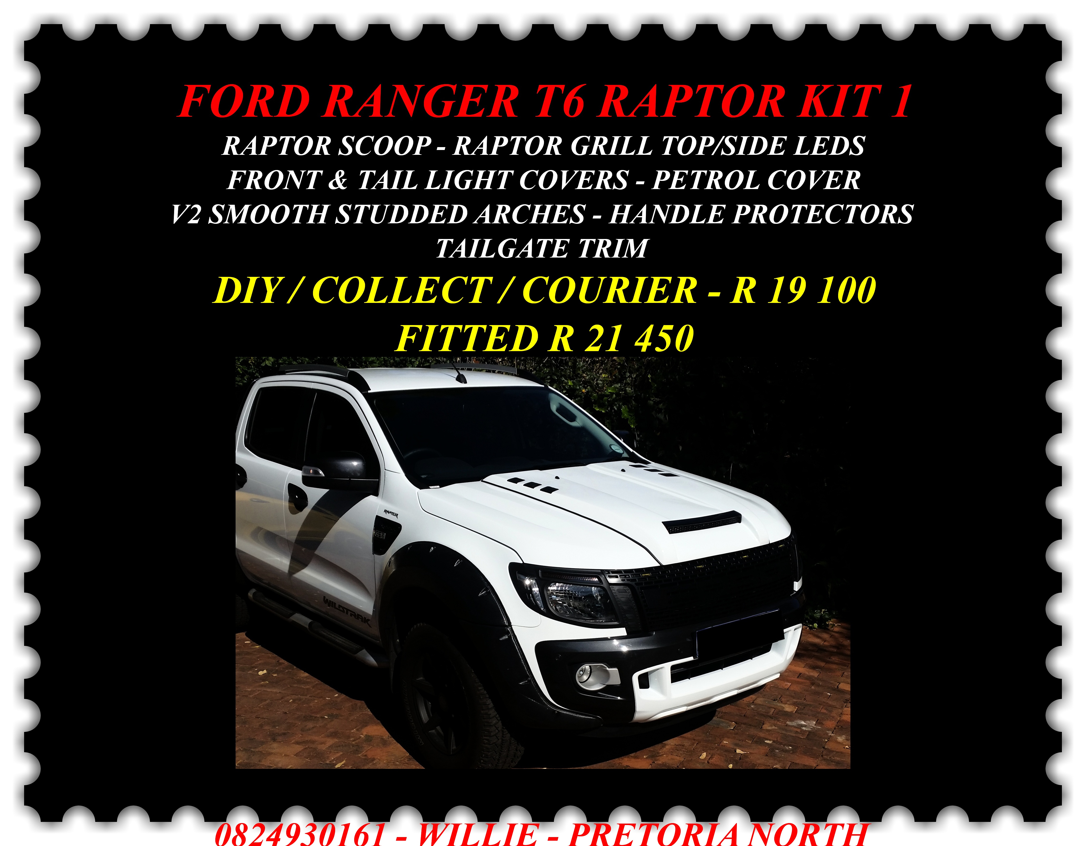 Ford T6 Raptor Kits Mtba Mighty Thor Bakkie Accessories